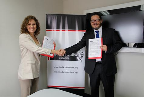 Fundación Gustavo Mohme Llona e Instituto para la Sociedad de la información firman convenio