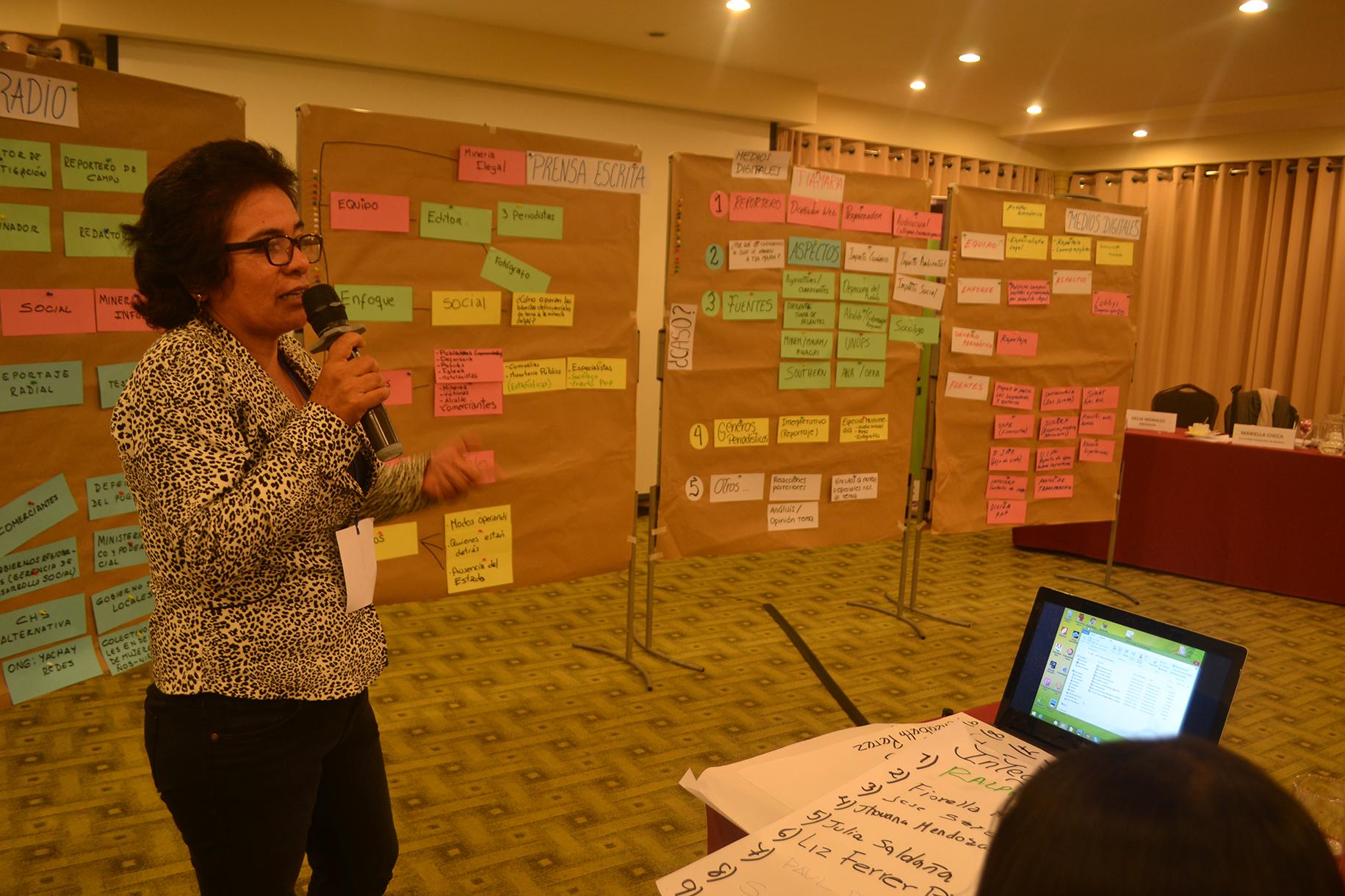 Capacitan a periodistas sobre conflictos socioambientales