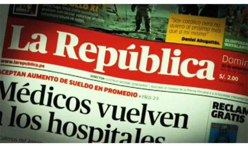 Diario La República: más de tres décadas de periodismo aguerrido