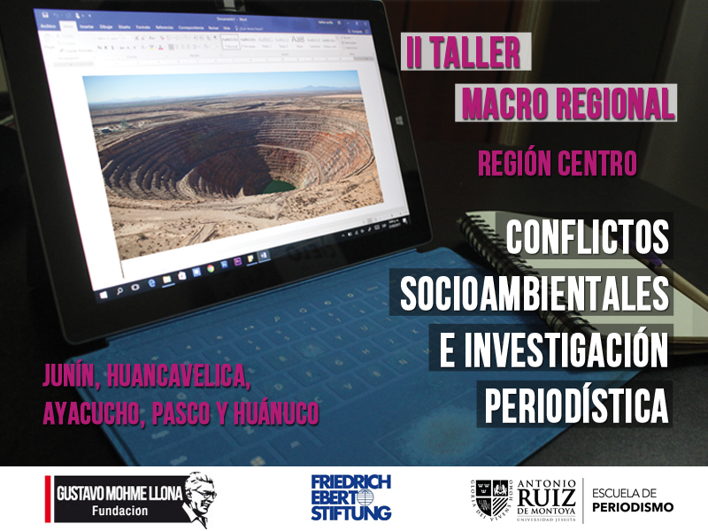 Becas para Taller de Periodismo de Investigación en la Macro Región Centro