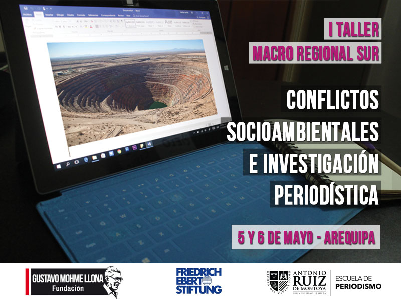 Programa del I Taller Macro Regional Sur en Arequipa