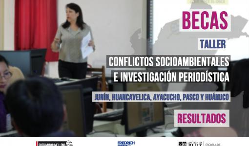Becas: Selección de postulantes para Taller Macro Regional Centro