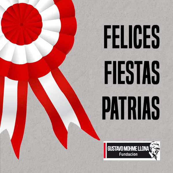 Mensaje de la Fundación Mohme por Fiestas Patrias