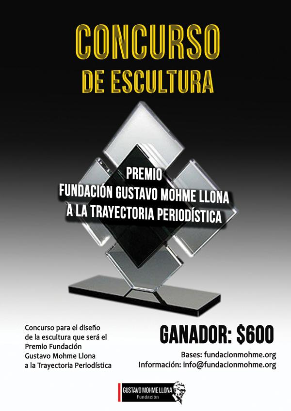 Concurso de Escultura para Premio FGMLL a la Trayectoria Periodística
