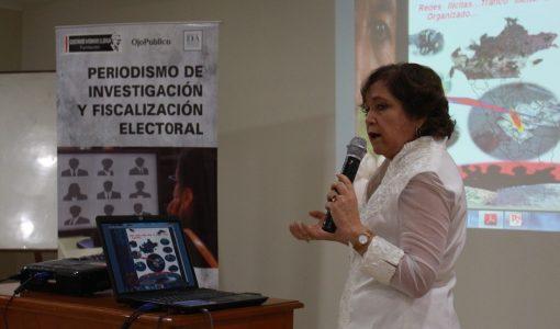 VIDEO: Sonia Medina habla del rol del periodismo en la lucha contra el narcotráfico