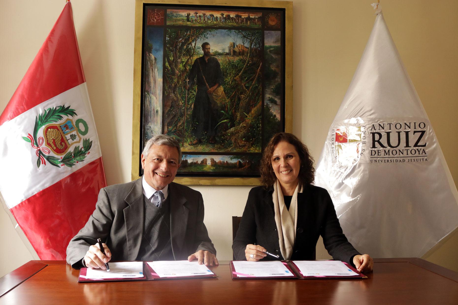Fundación Mohme Llona y Universidad Ruiz de Montoya renovaron convenio institucional