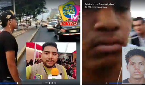 Agreden a periodista mientras transmitía en vivo