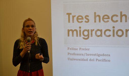 Mitos sobre inseguridad ciudadana y migración