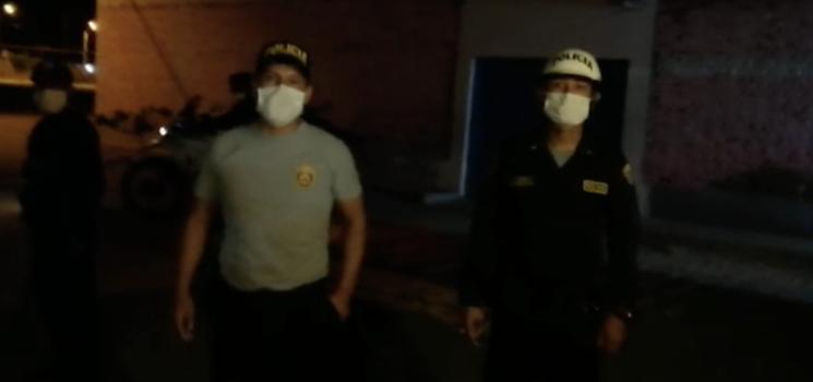 Periodista Ralph Zapata no se encontraba en la calle cuando fue detenido